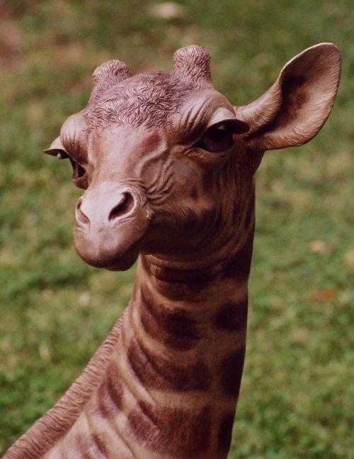 Tom Tischler Bronze - Baby Giraffe